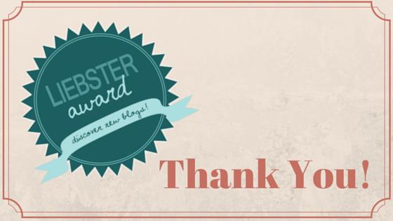 2016 Liebster BlogAward